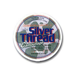 Silver Thread CAMO 100m 0.165-0.33mm. за 1шт.